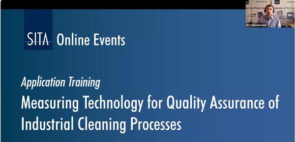 工业清洗工业质量控制与优化网络研讨会