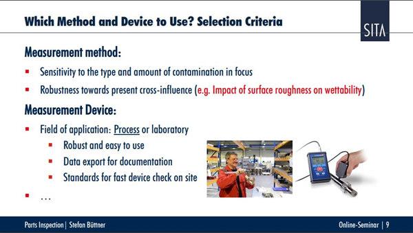 零部件表面清洁度量化检测技术