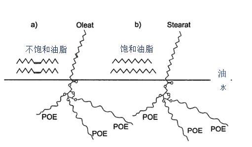 乙氧基化脂肪醇和脂肪酸结构图